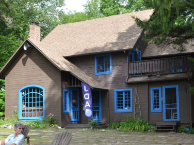 The Chalet at Camp Jeanne d'Arc