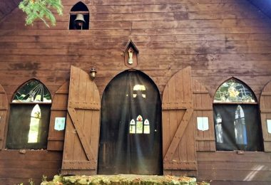 Chapel at All Girls Summer Camp, Camp Jeanne d'Arc, Adirondacks NY
