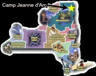 Upstate New York Camp Jeanne d'Arc Summer Camp for Girls