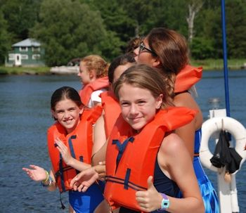 Water Activities at Overnight Summer Camp for Girls Upstate New York