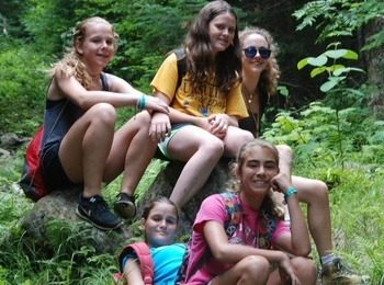 Explore Nature in the Adirondacks, Sleep Away Summer Camp for Girls, Camp Jeanne d'Arc