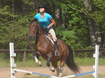 Ride a Horse at Overnight Summer Camp for Girls Adirondacks NY