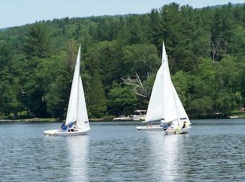 Learn to Sail at Summer Camp for Girls, Adirondacks New York