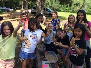 All Girls Summer Camp Service Project