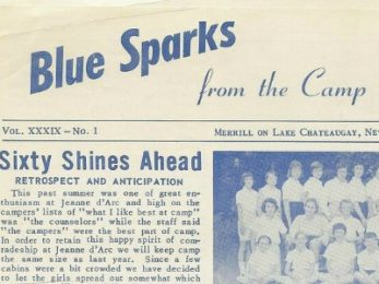 Blue Sparks Alumni Newsletter