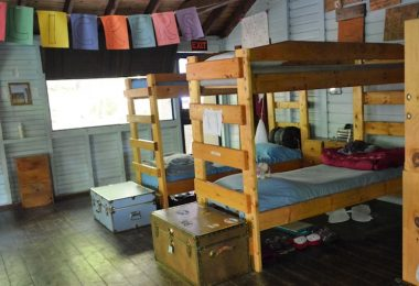 Bunk Beds at Overnight Summer Camp for Girls Camp Jeanne d'Arc, Adirondacks for Girls