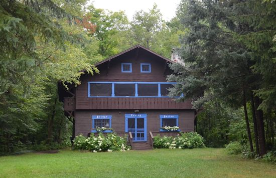 Woodsheart Cabin at Camp Jeanne d'Arc Summer Camp for Girls