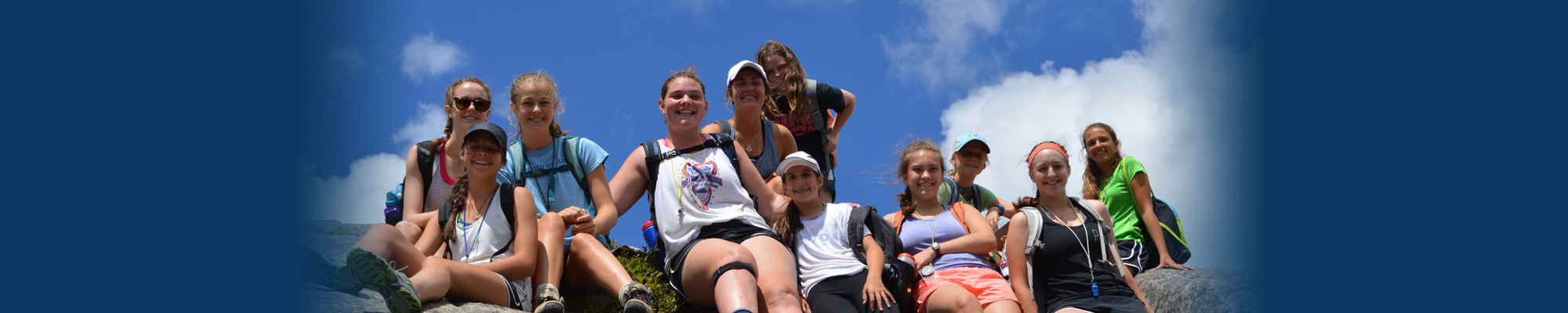 Go Hiking at Sleep Away Summer Camp for Girls Upstate New York