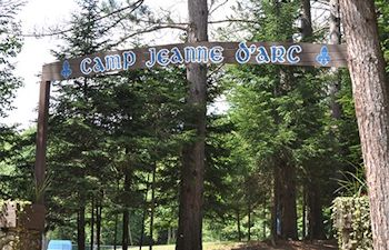 Entrance Into Camp Jeanne d'Arc, Summer Camp for Girls