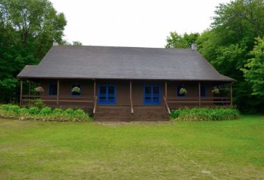 External preview of The Hearth (Dining Hall) used to feed campers at an outdoor summer camp