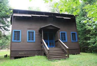 Cabins with Hot Water Showers at Summer Camp for Girls, Camp Jeanne d'Arc