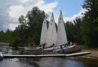 Learn to Sail at Camp Jeanne d'Arc All Girls Summer Camp New York