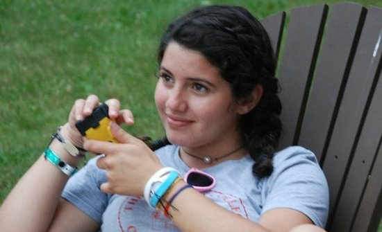 Lifestyle image of Skyler N, a Camp Jeanne d'Arc Camp Counselor